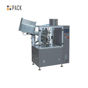 Vysokokapacitný stroj na plnenie trubíc pre kozmetický plastový krém