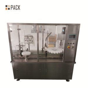 Plnička fliaš esenciálneho oleja cbd oleja plniace stroje