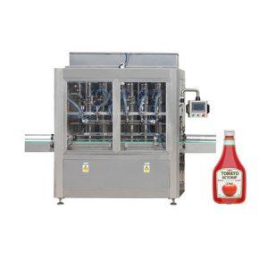 Stroj na plnenie pasty z paradajkovej pasty, kozmetický krém