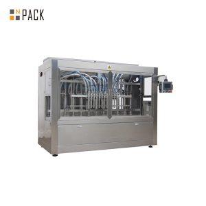 Šesťhlavý automatický stroj na priame plnenie tekutín