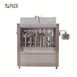 Objemová paradajková omáčka automatický stroj na plnenie tekutín