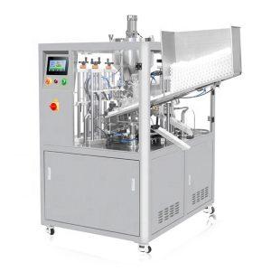Ultrazvukové tesnenie kozmetické trubice plniace stroj
