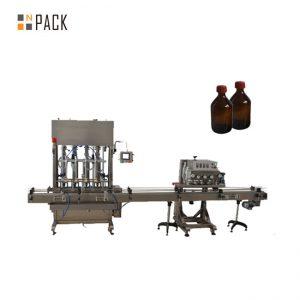 Vysoko presná automatická plnička mazacích olejov / mazacích olejov