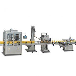 Plnoautomatické zariadenia na plnenie fliaš 2 v 1 sus304 na výrobu olivového oleja