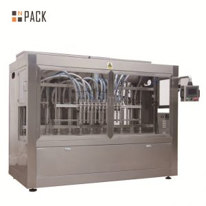 Automatický 8 plniacich trysiek stroj na plnenie tekutinou / pastou / omáčkou / medom
