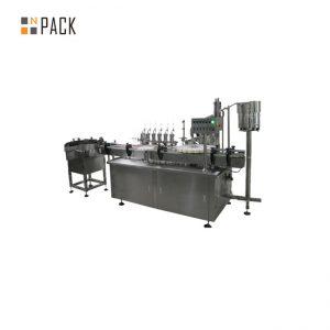 Prispôsobené sklenené kvapkadlo a tekuté plniace uzatváracie etiketovacie zariadenie pre e cigaretovú tekutinu