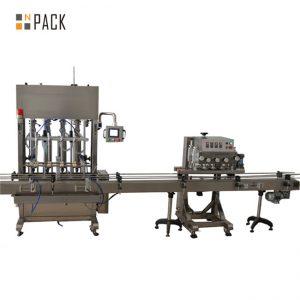 Stroj na plnenie a uzatváranie injekčných liekoviek z peristaltického čerpadla so stolovou doskou