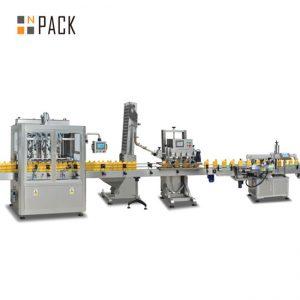 stroj na plnenie piestu s jamom, automat na plnenie horúcou omáčkou, výrobná linka na výrobu chilli omáčky