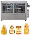 Automatická servo piestová omáčka typu medový džem s vysokou viskozitou, tekuté plniace etikety, strojová linka