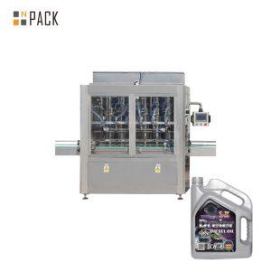 Plniaci stroj na plnenie piestových medových pneumatík s jednou hlavou s 5 až 5 000 ml pre tekutú fľašu