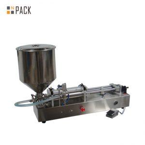 Veľmi populárny stroj na plnenie zmrzliny / plniaci stroj s dvoma hlavami / stroj na leštenie nechtov