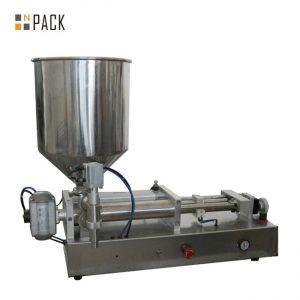 Stroj na plnenie tekutín poloautomatickými kyselinami Costomic 2 Heads