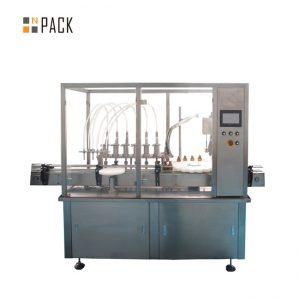stroj na plnenie a uzatváranie fliaš s kyselinou hyalurónovou