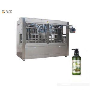 Kompletný automatický stroj na plnenie šampónov s plnou vodou