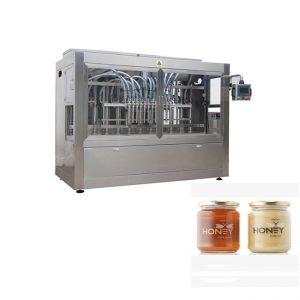Lacný plniaci stroj na balenie medu do fliaš