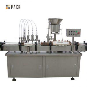 Vysoko kvalitný bacuľatý gorila plniaci stroj e-tekutina e tekutý plniaci stroj malé kvapky plniaceho stroja