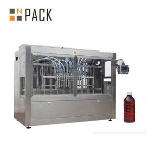 Automatické plniace zariadenie na olej na varenie oleja, omáčka džemu, med na plnenie plniaceho stroja