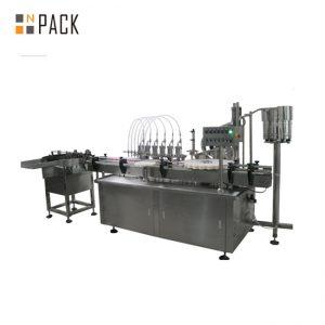 10 ml a 60 ml továrenská cena E tekuté plniace stroje